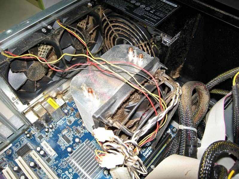 Špinavý počítač